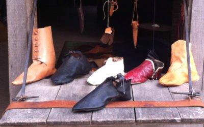 Peter en Ernst Boers, schoenmakers/pelgrims