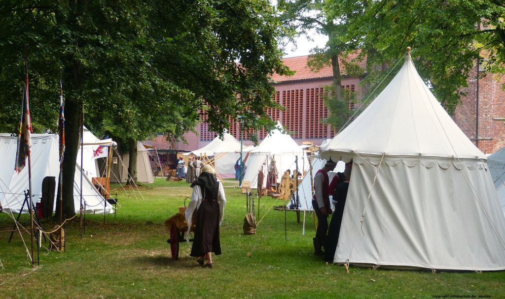 middeleeuws ter apel kamp met klooster